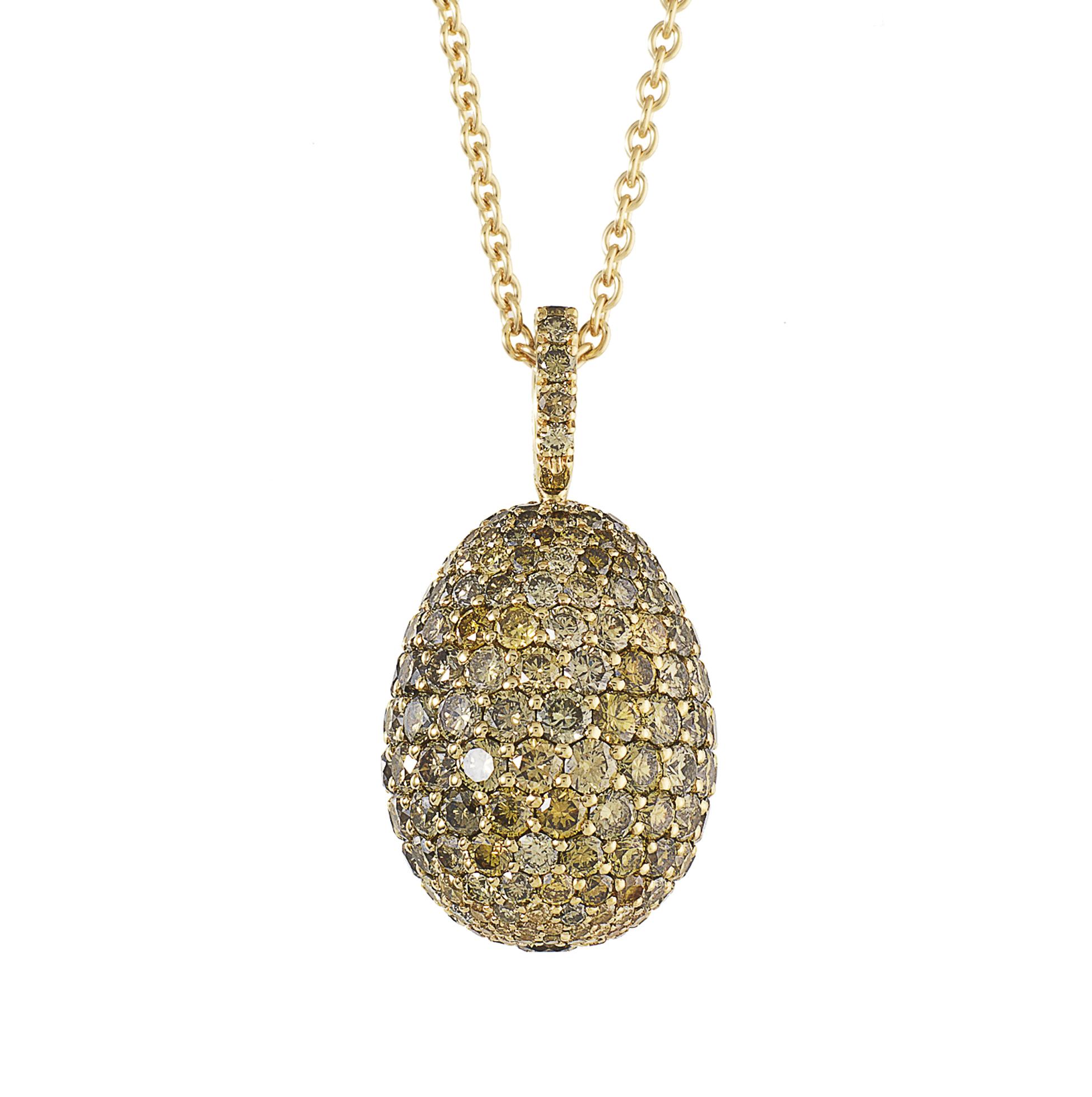 faberge egg necklace mediareach